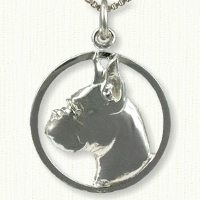 Boxer Charm - Dog Charm