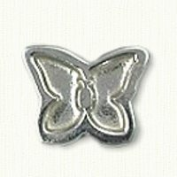 Butterfly Lapel Pin or Tack Pin