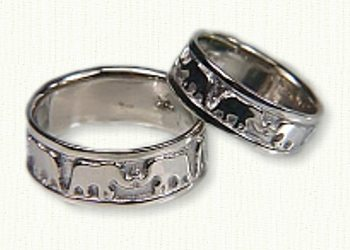african wedding rings