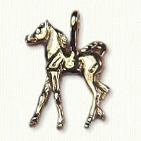 14KY gold Colt or Horse Charm