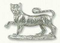 Large Tiger Pin