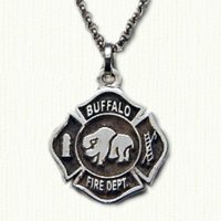 Buffalo Fire Department Logo Pendant