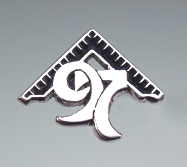 Masonic Square Tack Pin